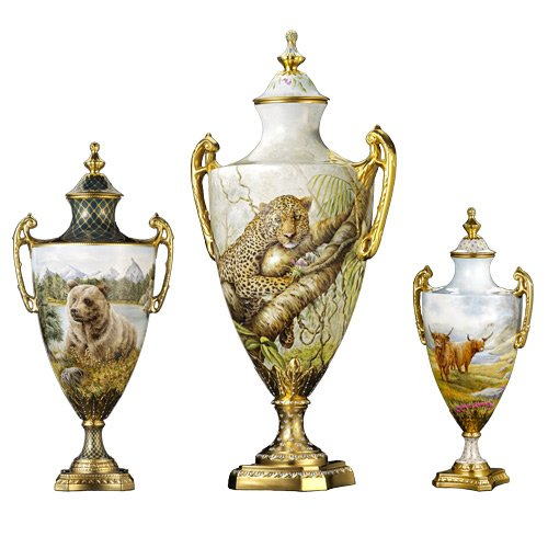 LyntonFBC-Luxury-Tableware-Fine-Bone-China-Ornamental-Decorative-Gregory-Vase-3-different-sizes